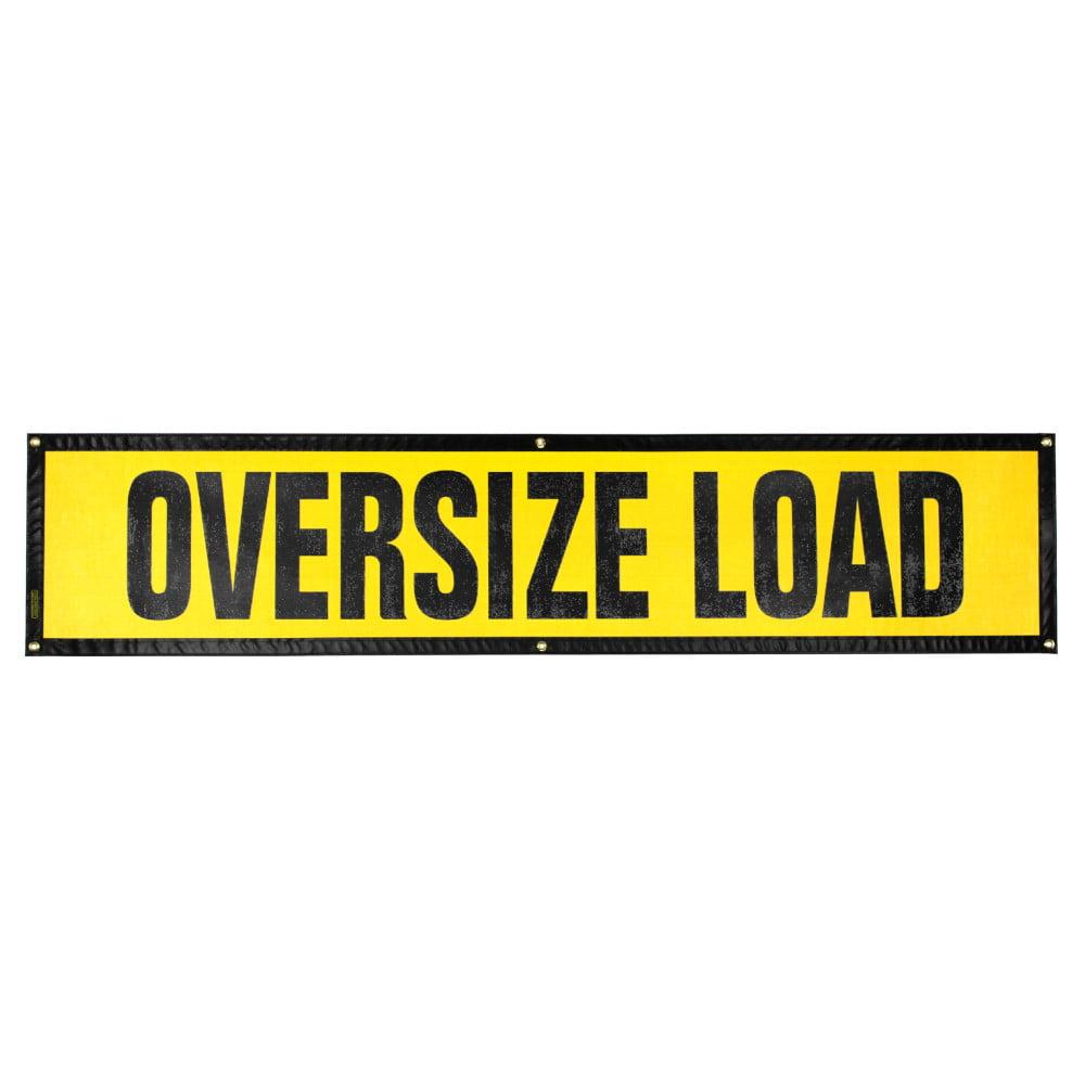 Grommet Oversize Load Sign