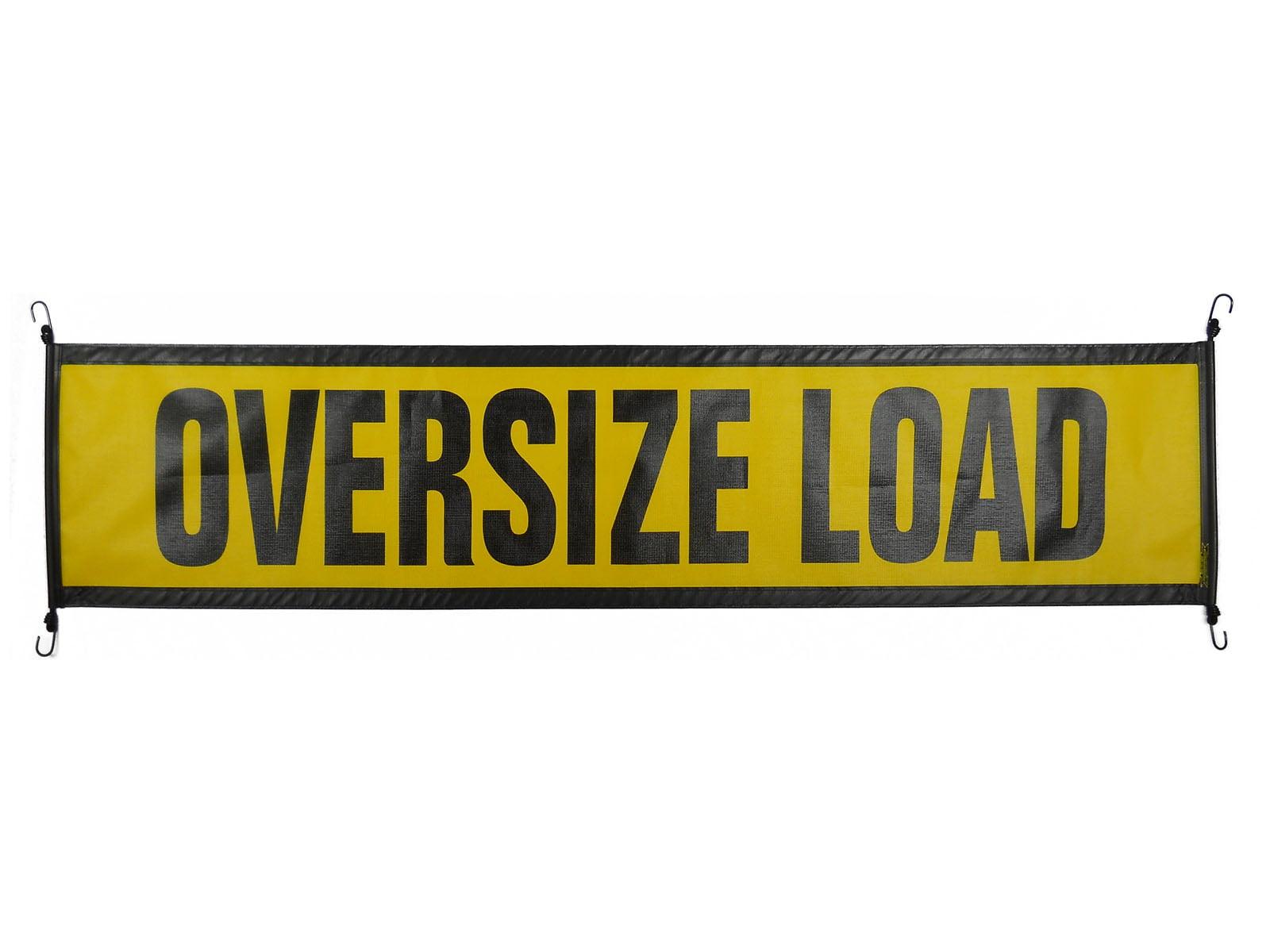 Wide Load Sign >> Ez Hook Oversize Load Sign