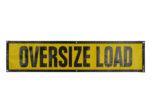 grommet oversized load sign