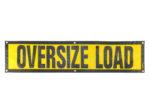 grommet oversized load sign escort
