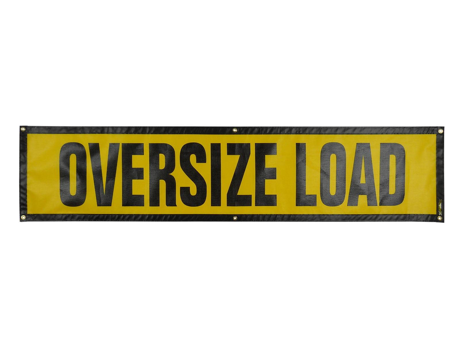 Grommet Oversize Load Sign Oversize Warning Products