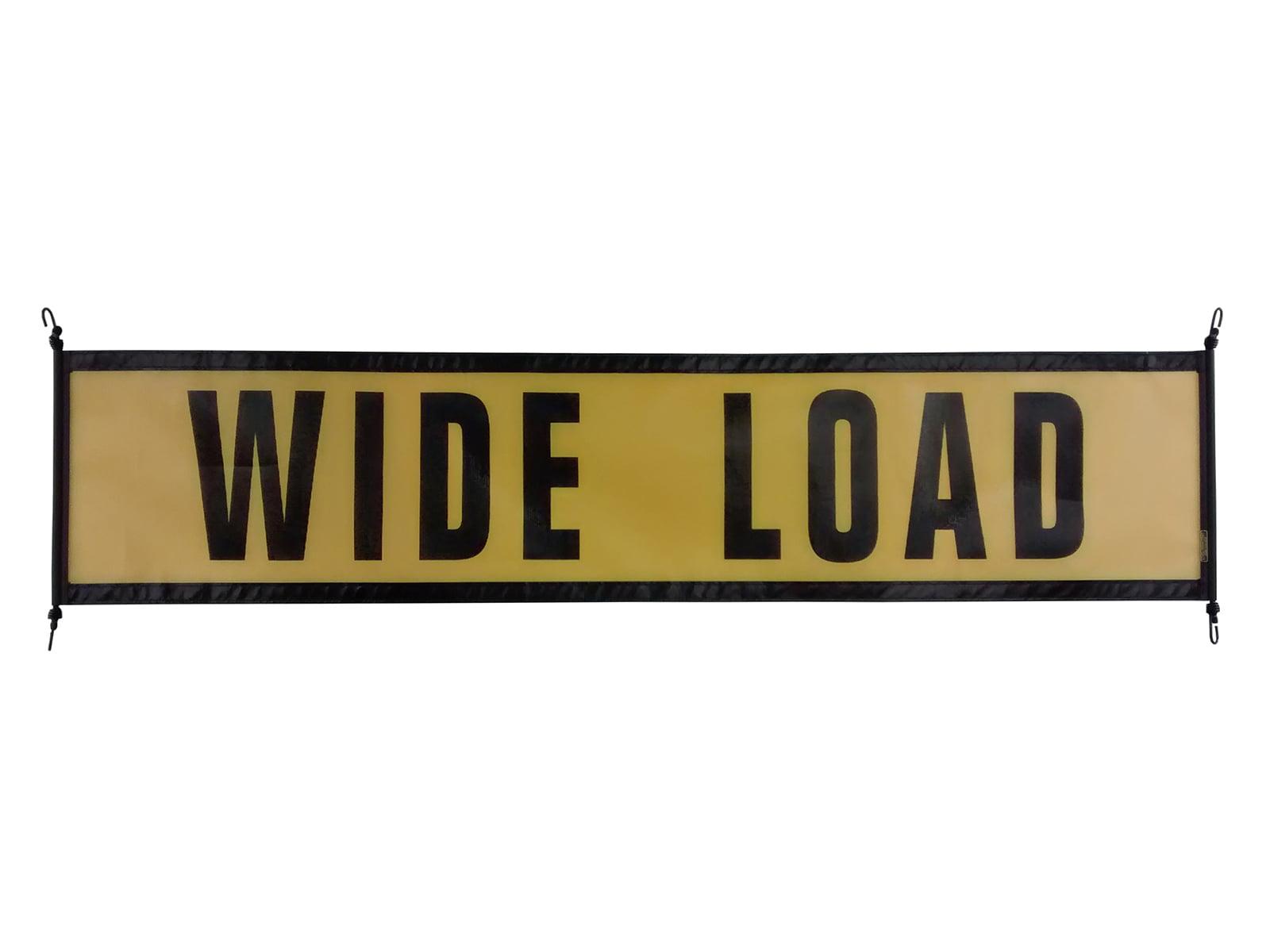 Wide Load Sign >> Ez Hook Wide Load Sign