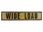 grommet wide load sign