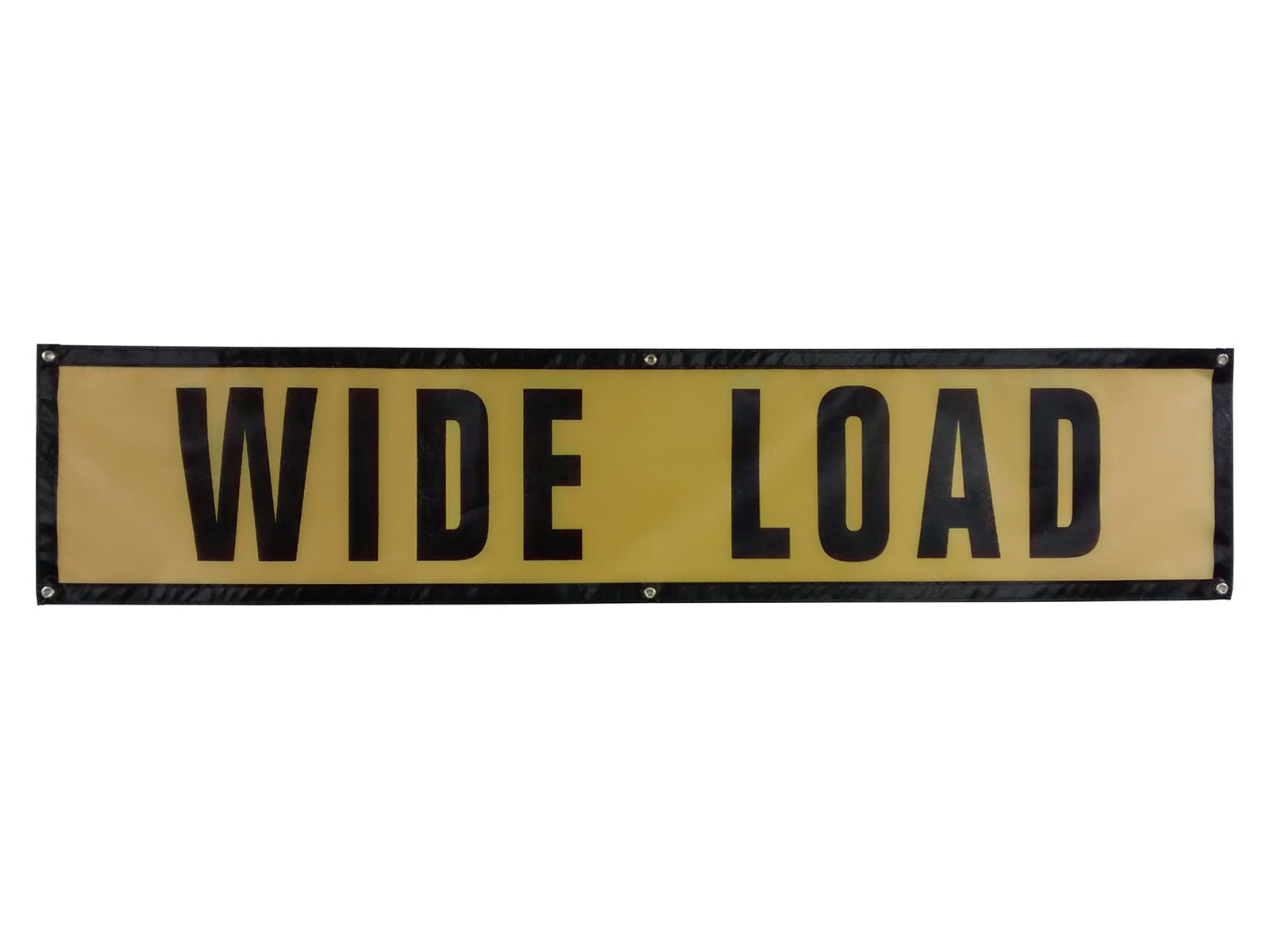 Wide Load Sign >> Grommet Wide Load Sign Oversize Warning Products