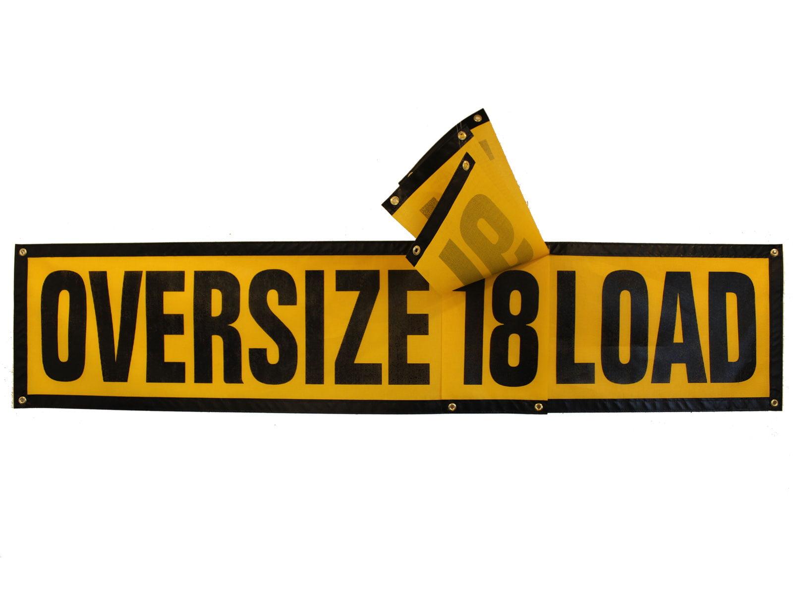 Wide Load Sign >> Grommet Oversize Load Tablet Sign